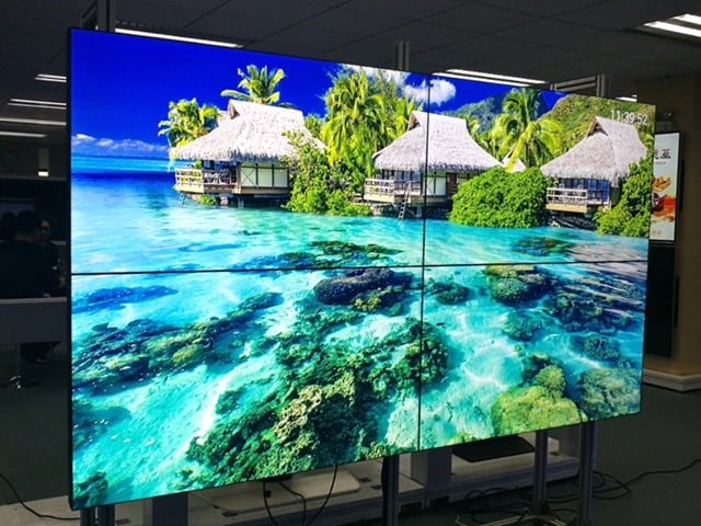 Video Wall Show Room LED Display