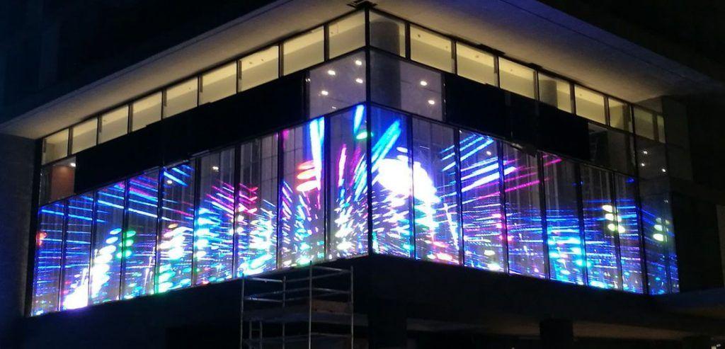 screen trasparente