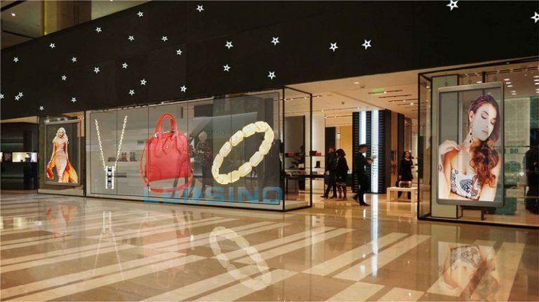 Ledwall crystal per centri commerciali