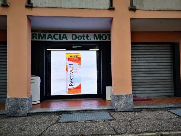 LED Wall Farmacia