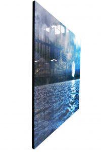 Led wall crystal