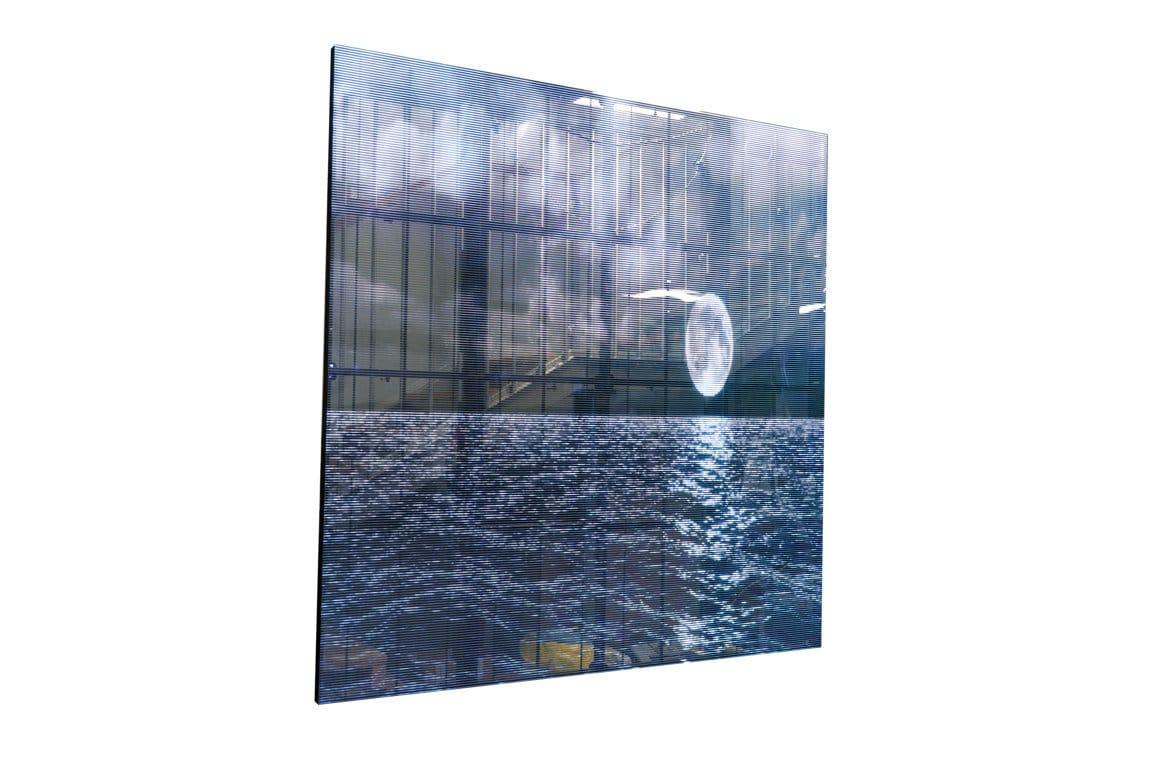 Ledwall trasparente indoor