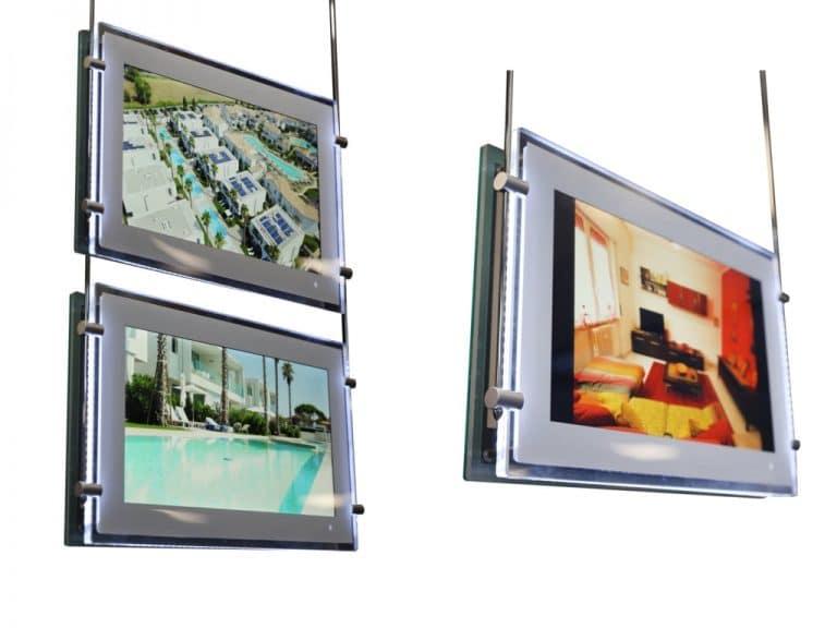 Monitor per vetrine
