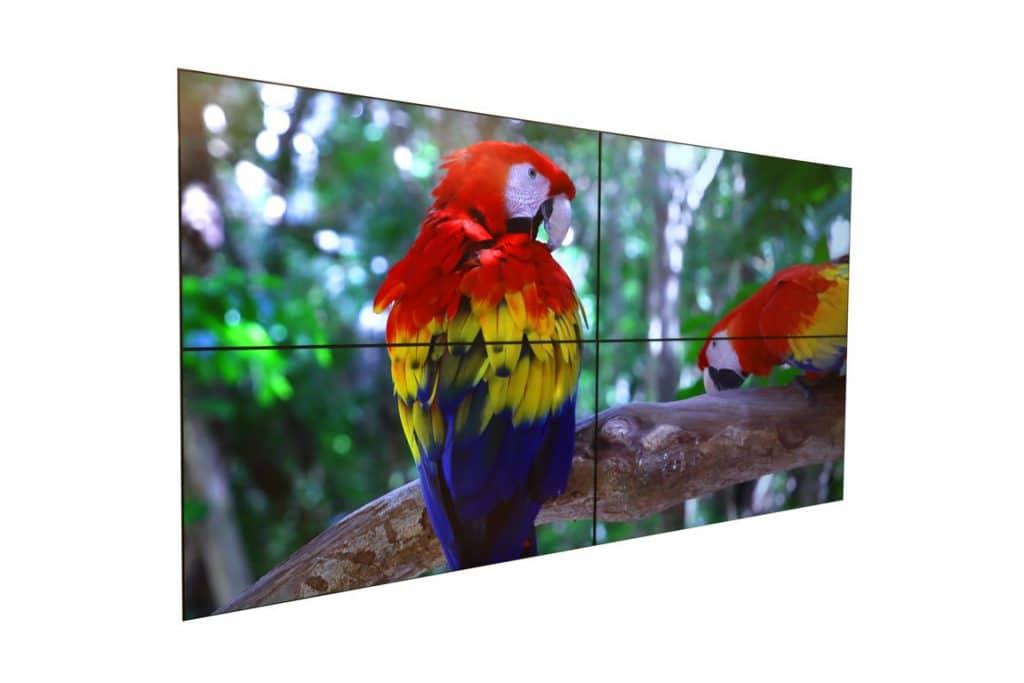 Video wall indoor