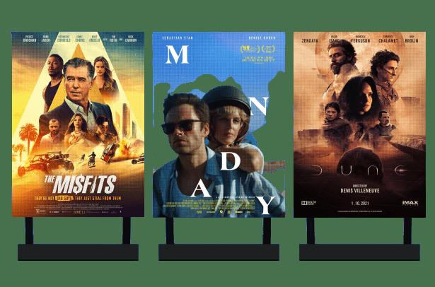 Bacheca digitale cinema